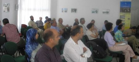 "PAP/RAC at the workshop ""Coastal Potection"" at Tetouan"