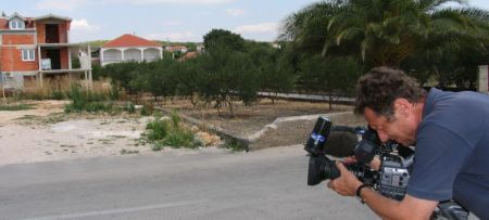 A TV broadcast on urbanisation of the Mediterranean coast