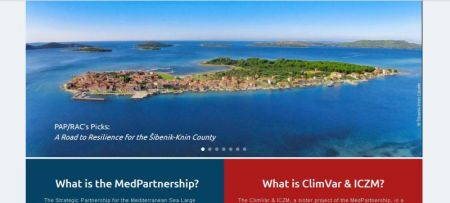 New GEF MedPartnership project website - beautiful, isn't it?