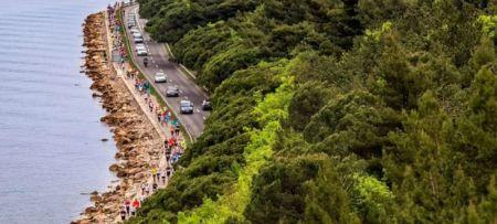 "Slovenia converted the coastal road to ""green oasis"""