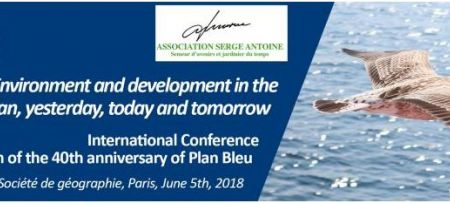 2018-04-27Conference on the occasion of the 40th anniversary of Plan Bleu