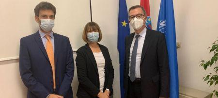 Italian Ambassador to Croatia visits PAP/RAC