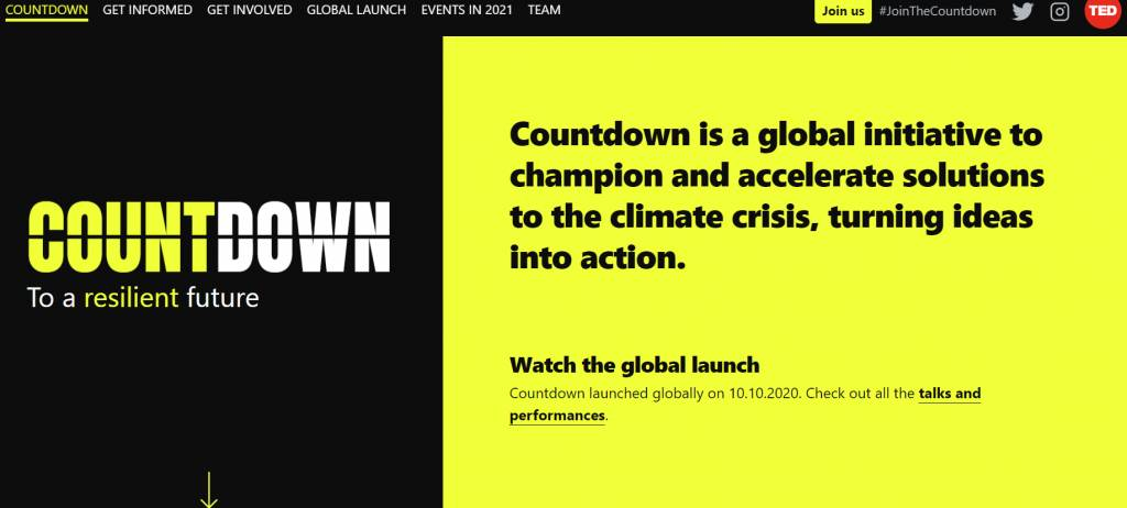 Countdown to accelerate solutions to the climate crisis by 2030 launched