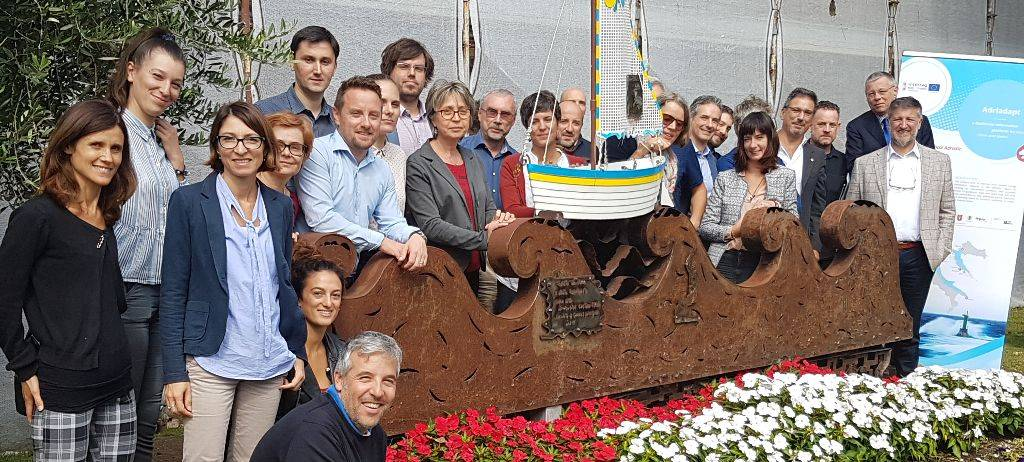 Adriadapt project partners met in Cervia