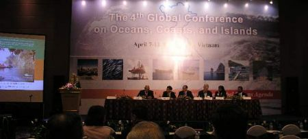 Fourth Global Conference on Oceans, Coasts, and Islands opened in Hanoi, Vietnam