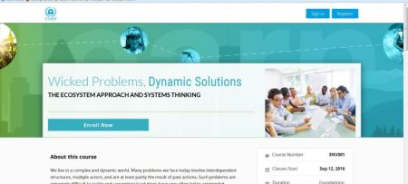 Wicked Problems, Dynamic Solutions: Enroll now!