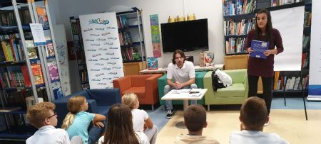 Little philosophers at Split City library on the occasion of the Coast Day 2019